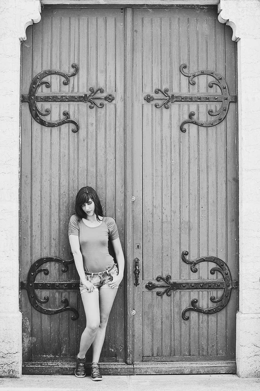 """Photo de Nalya utilisée pour la chanson """"Et si toi"""" de l'album """"Miss Miles"""""""