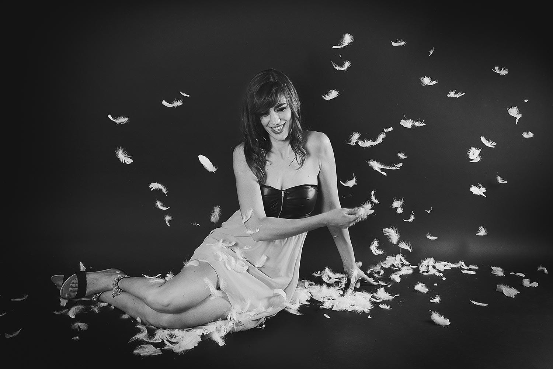 """Photo de Nalya utilisée pour la pochette de l'album """"Miss Miles"""""""